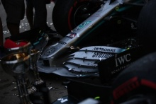 13.10.2019- Mercedes AMG F1 celebrates the victory of 2019 constructor championship