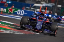 27.10.2019 - Daniil Kvyat (RUS) Scuderia Toro Rosso STR14