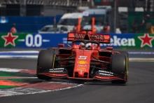 27.10.2019 - Sebastian Vettel (GER) Scuderia Ferrari SF90