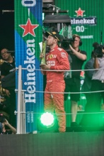 27.10.2019 - 2nd place Sebastian Vettel (GER) Scuderia Ferrari SF90