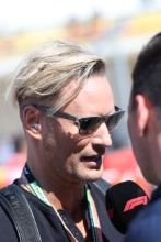 03.11.2019- starting grid, Brian Tyler, Composer of the F1 Theme