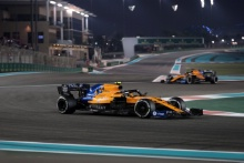 01.12.2019 - Race, Lando Norris (GBR) Mclaren F1 Team MCL34 and Carlos Sainz Jr (ESP) Mclaren F1 Team MCL34