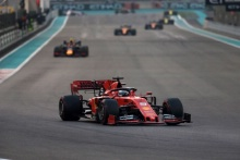 01.12.2019 - Race, Sebastian Vettel (GER) Scuderia Ferrari SF90