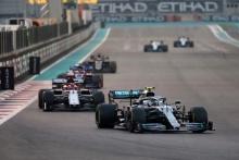 01.12.2019 - Race, Valtteri Bottas (FIN) Mercedes AMG F1 W010
