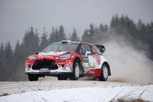 12.02.2016 - Kris Meeke (GBR)-Paul Nagle (IRL) Citroen DS3 WRC, Abu Dhabi Total World Rally Team