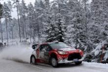 13.02.2016 - Kris Meeke (GBR)-Paul Nagle (IRL) Citroen DS3 WRC, Abu Dhabi Total World Rally Team