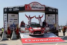 Kris Meeke (GBR)-Paul Nagle (IRL) Citroen DS3 WRC, Abu Dhabi Total World Rally Team