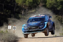Elfyn Evans (GBR)- Scott MARTIN (GBR) Ford Fiesta WRC, M‐Sport Ford World Rally Team