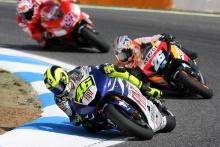 Valentino Rossi (ITA), Yamaha Factory Racing Team, Yamaha M1, 46, 2007 MotoGP World Championship, Round 14, Estoril, Portugal, 16 September 2007